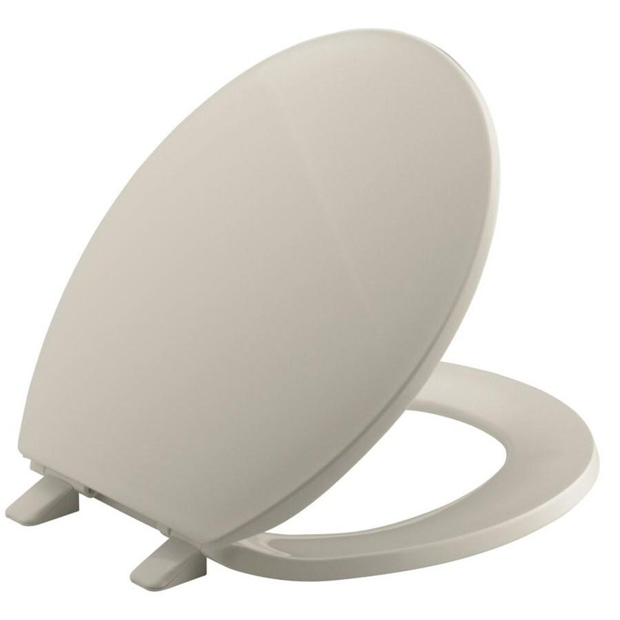 KOHLER Brevia Plastic Round Toilet Seat