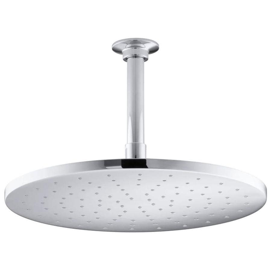 KOHLER Traditional Polished Chrome 1-Spray Shower Head
