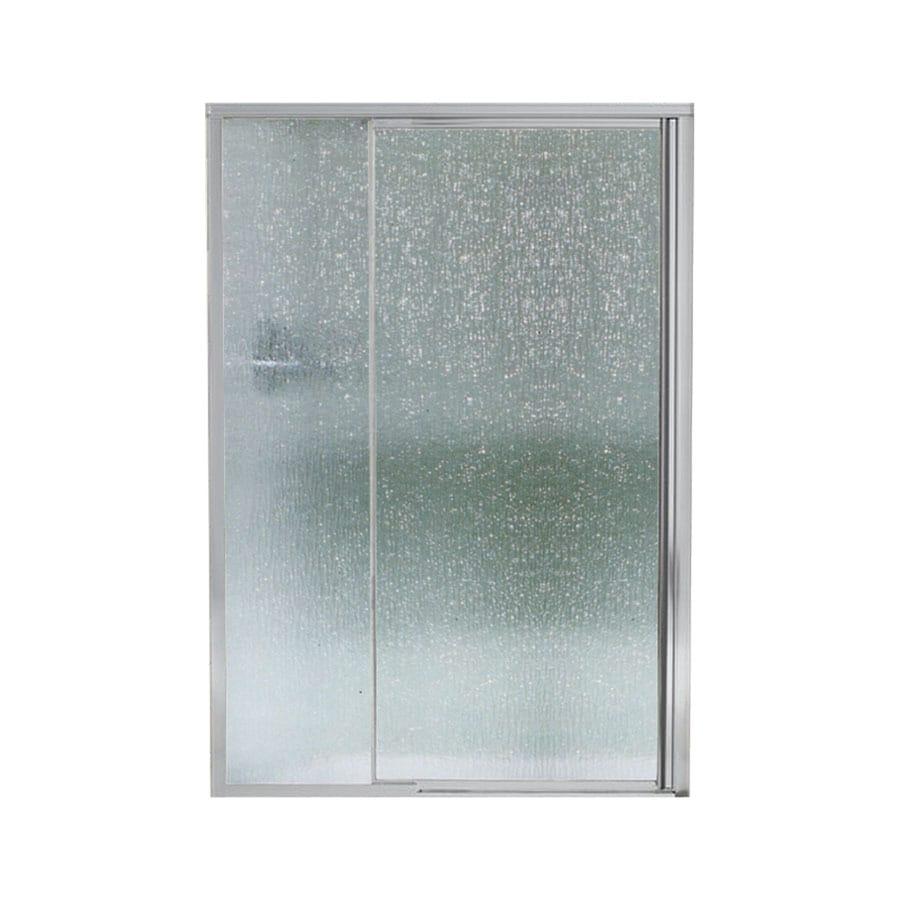 Sterling Vista Pivot Ii 42-in to 48-in Framed Pivot Shower Door
