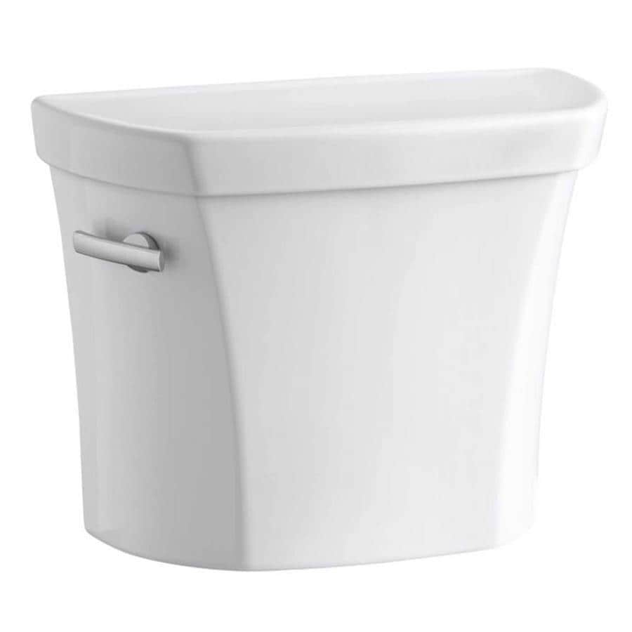 KOHLER Wellworth White 1.28-GPF (4.85-LPF) 10 Rough-In Single-Flush High-Efficiency Toilet Tank