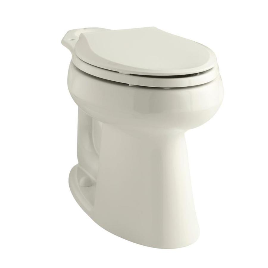 KOHLER Highline Biscuit Elongated Chair Height Toilet Bowl