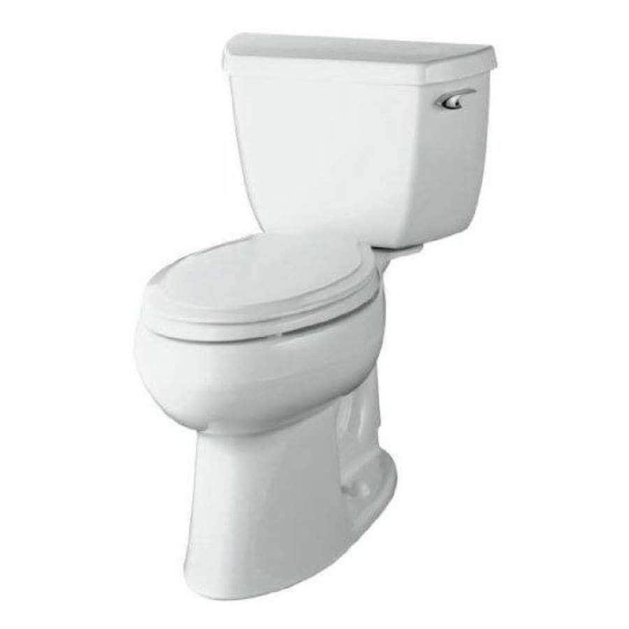 KOHLER Highline 1.28-GPF (4.85-LPF) Almond Elongated Chair Height 2-piece Toilet