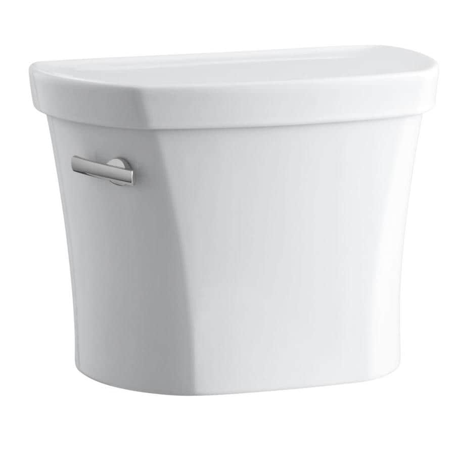 KOHLER Wellworth White 1.28-GPF (4.85-LPF) 14 Rough-In Single-Flush High-Efficiency Toilet Tank