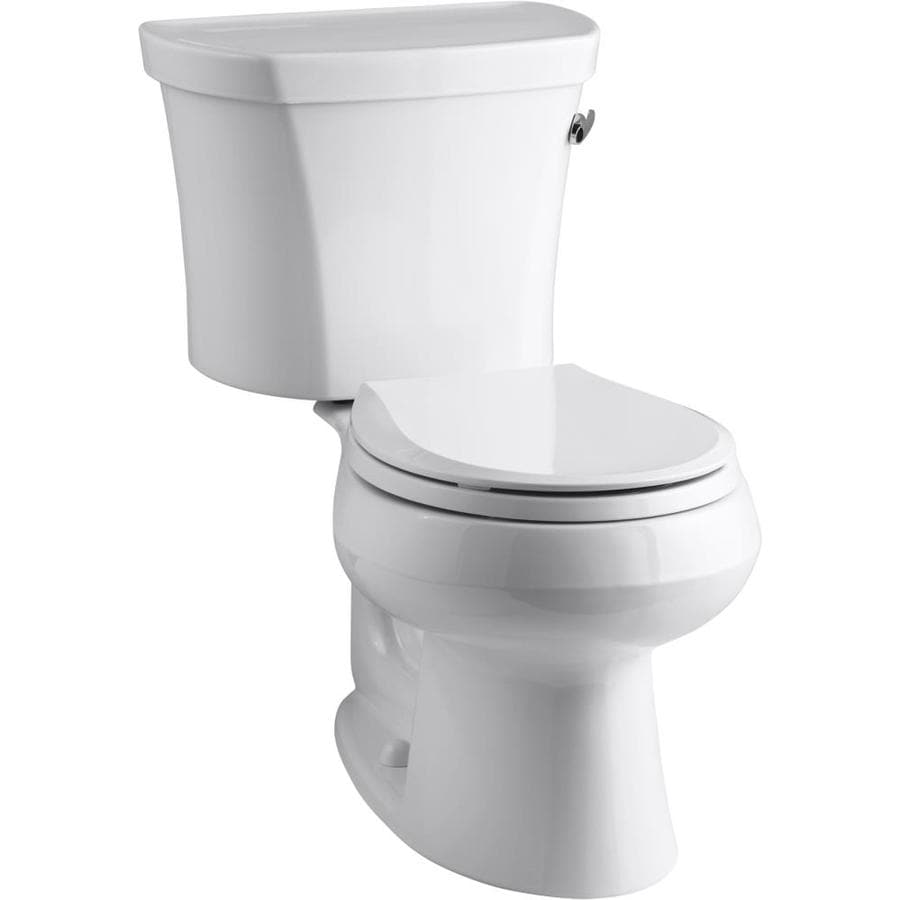 Kohler Wellworth White Watersense Round Standard Height 2