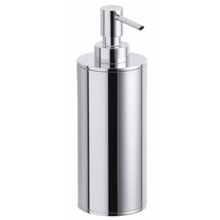 KOHLER Purist Polished Chrome Soap and Lotion Dispenser
