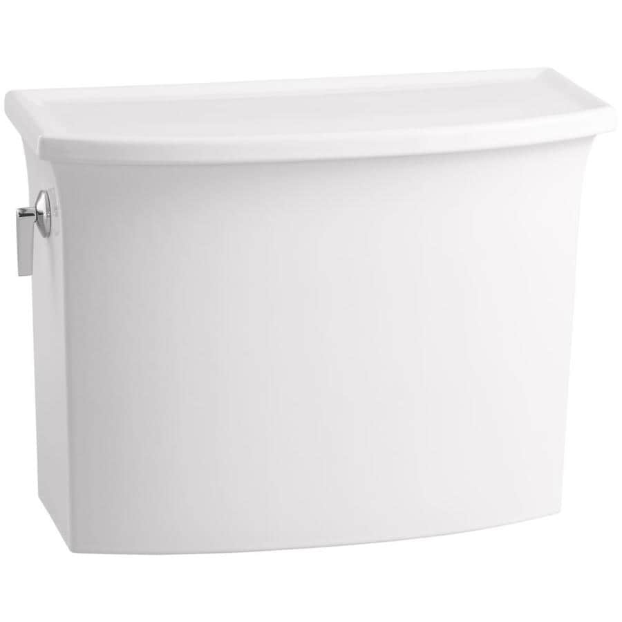 KOHLER Archer White 1.28-GPF Single-Flush High-Efficiency Toilet Tank