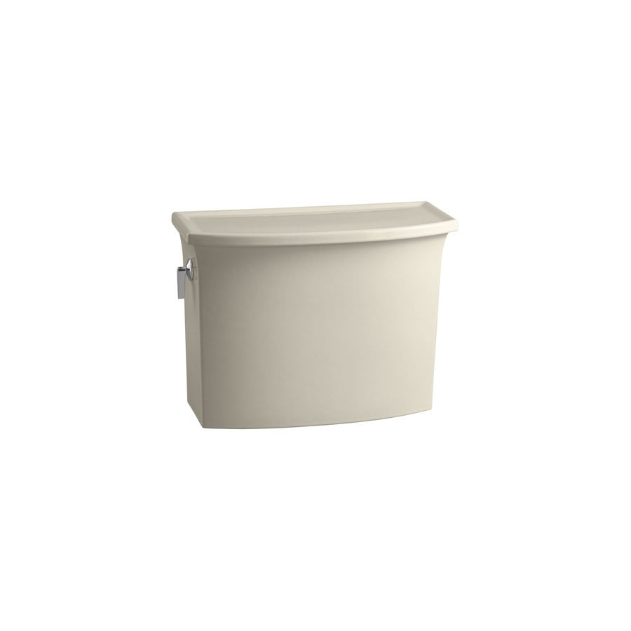 KOHLER Archer Almond 1.28-GPF Single-Flush High-Efficiency Toilet Tank