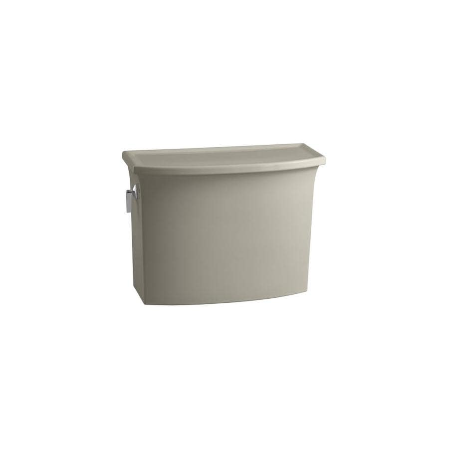 KOHLER Archer Sandbar 1.2800-GPF Single-Flush High-Efficiency Toilet Tank
