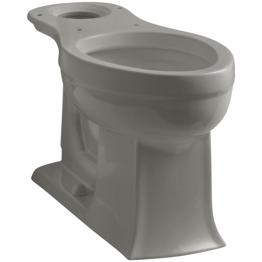 KOHLER Archer Chair Height Cashmere 12-in Rough-In Elongated Toilet Bowl