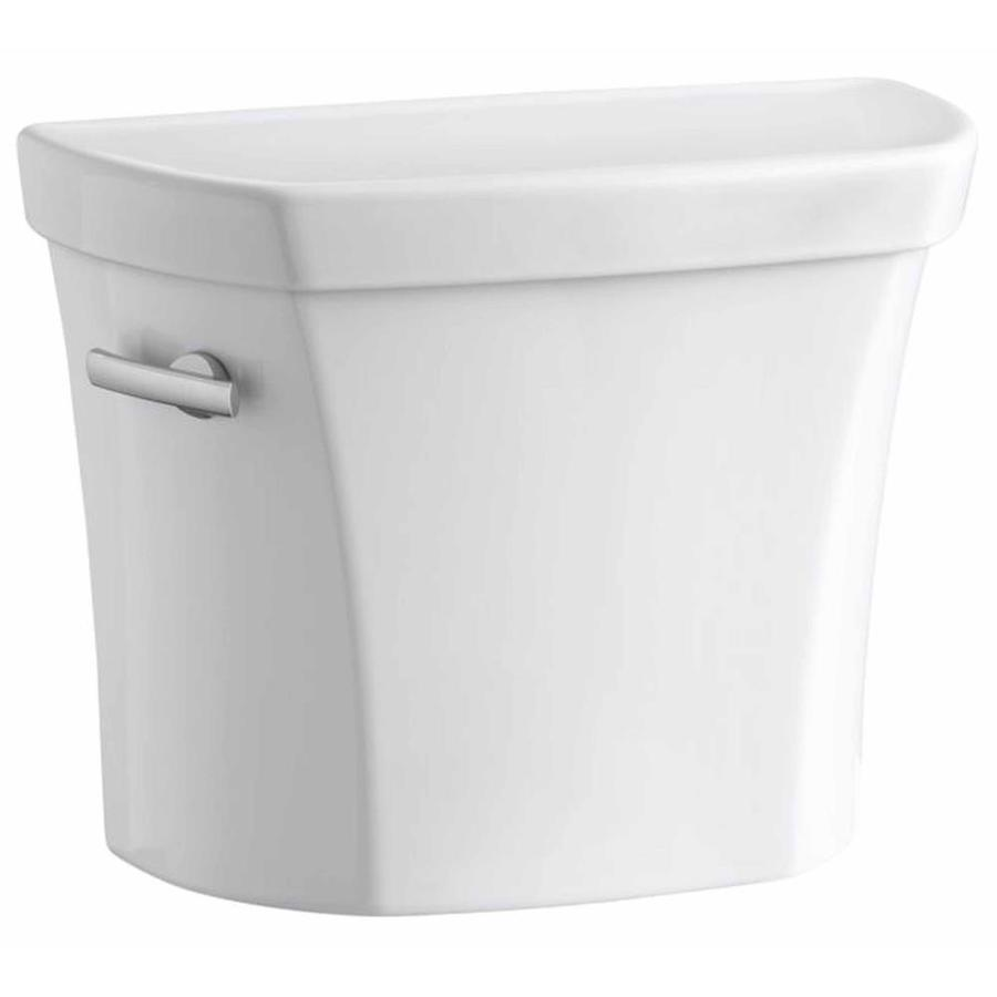 KOHLER Wellworth White 1.6-GPF Single-Flush High-Efficiency Toilet Tank