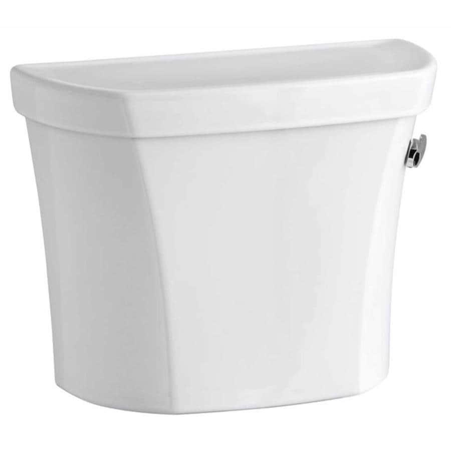 KOHLER Wellworth White 1.6-GPF (6.06-LPF) 12 Rough-In Single-Flush High-Efficiency Toilet Tank