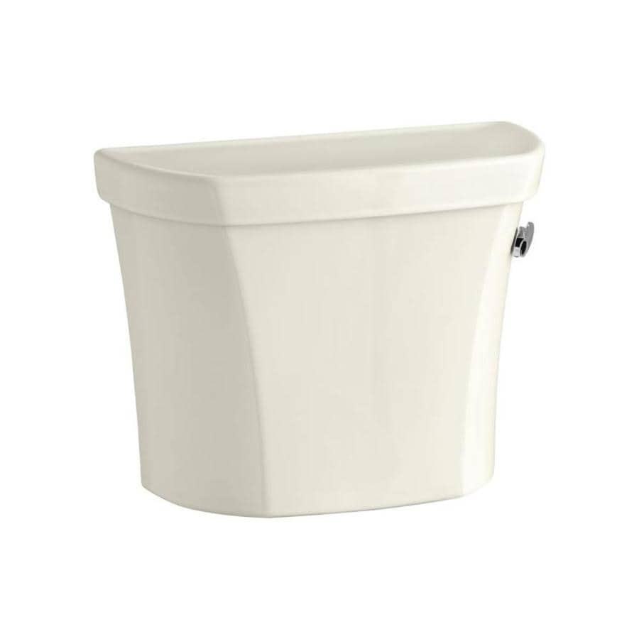 KOHLER Wellworth Biscuit 1.6-GPF (6.06-LPF) 12-in Rough-in Single-Flush High-Efficiency Toilet Tank