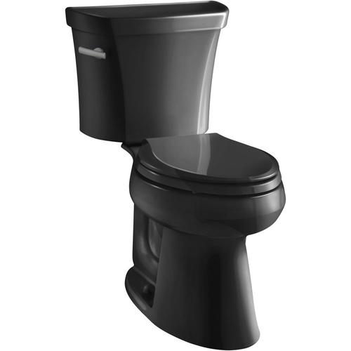 Kohler Highline Black Black Elongated Comfort Height 2