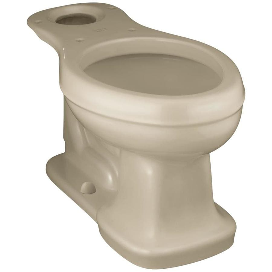 KOHLER Bancroft Mexican Sand Elongated Chair Height Toilet Bowl