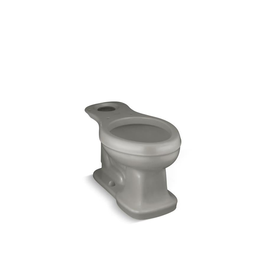 KOHLER Bancroft Comfort Height Cashmere 12-in Rough-in Elongated Toilet Bowl
