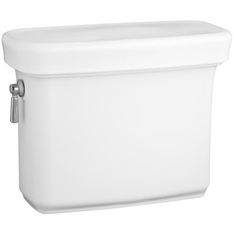 KOHLER Bancroft White 1.28-GPF (4.85-LPF) 12-in Rough-In Single-Flush High-Efficiency Toilet Tank