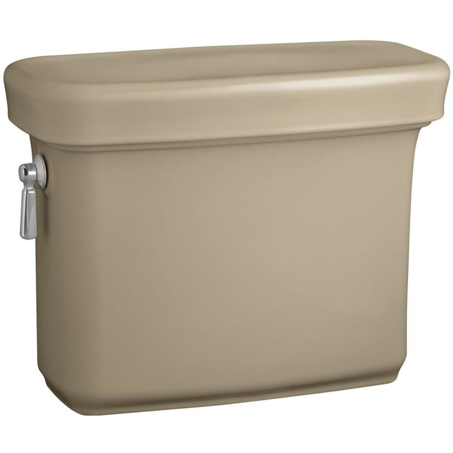 KOHLER Bancroft Mexican Sand 1.28-GPF Single-Flush High-Efficiency Toilet Tank
