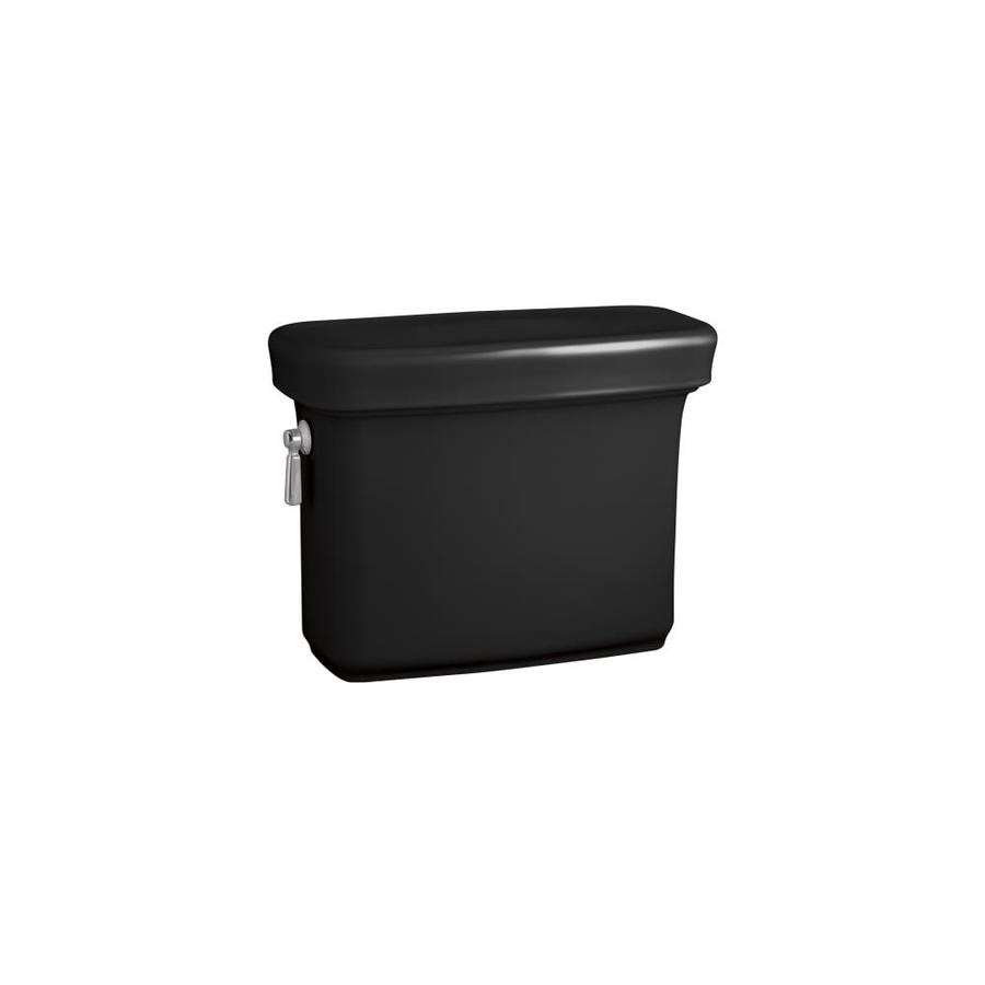 KOHLER Bancroft Black Black 1.28-GPF Single-Flush High-Efficiency Toilet Tank