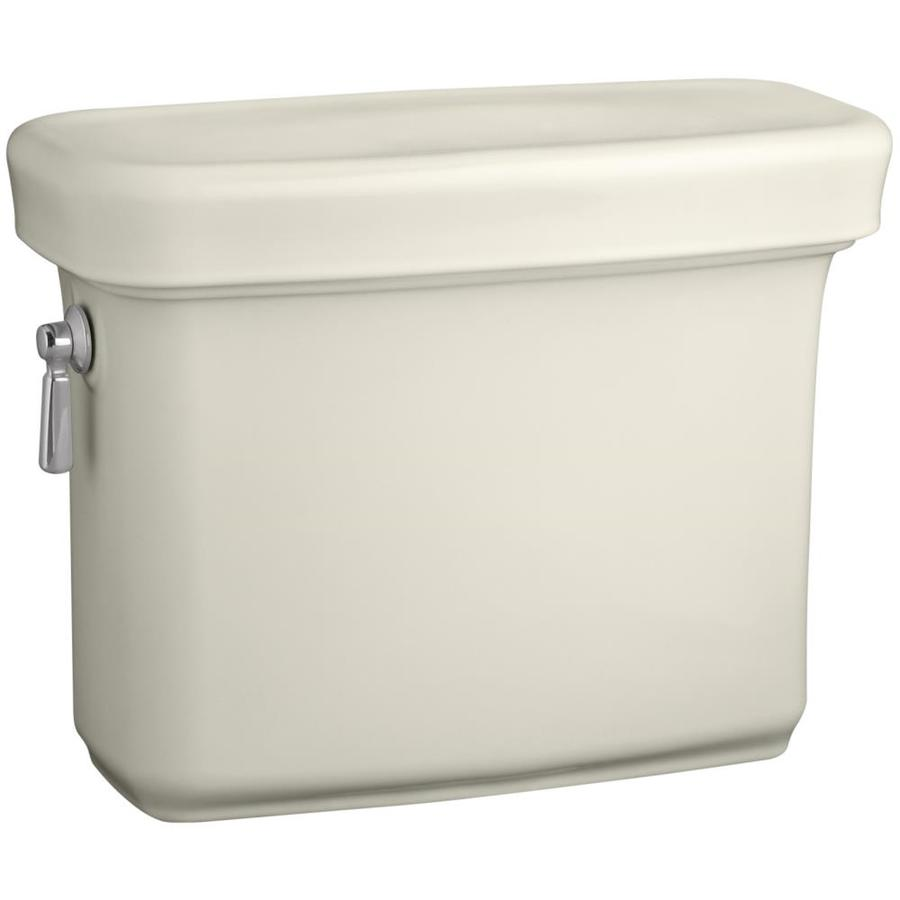 KOHLER Bancroft Biscuit 1.28-GPF Single-Flush High-Efficiency Toilet Tank