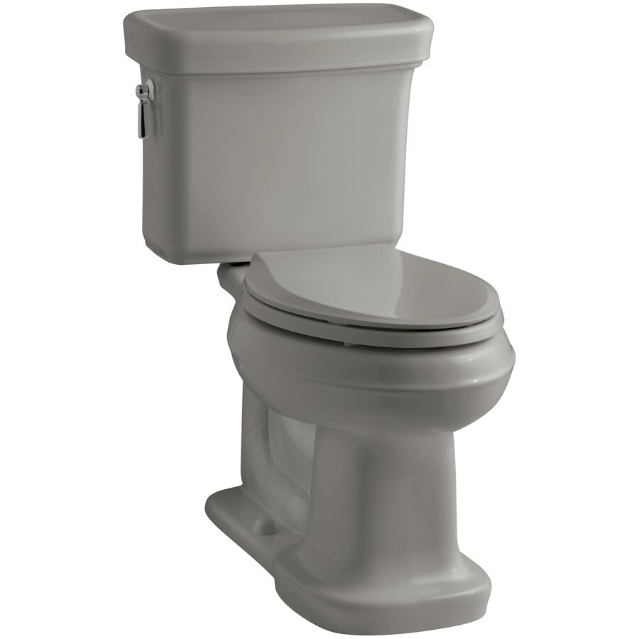 KOHLER Bancroft 1.28-GPF (4.85-LPF) Cashmere WaterSense Elongated Chair Height 2-Piece Toilet