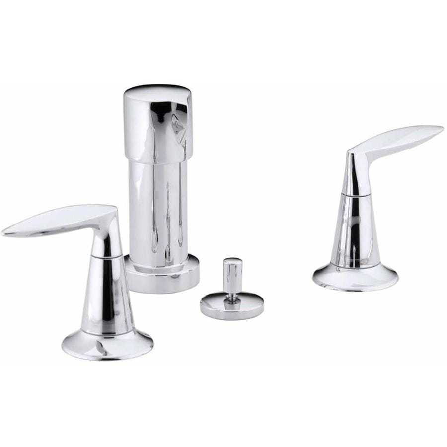 KOHLER Alteo Polished Chrome Vertical Spray Bidet Faucet
