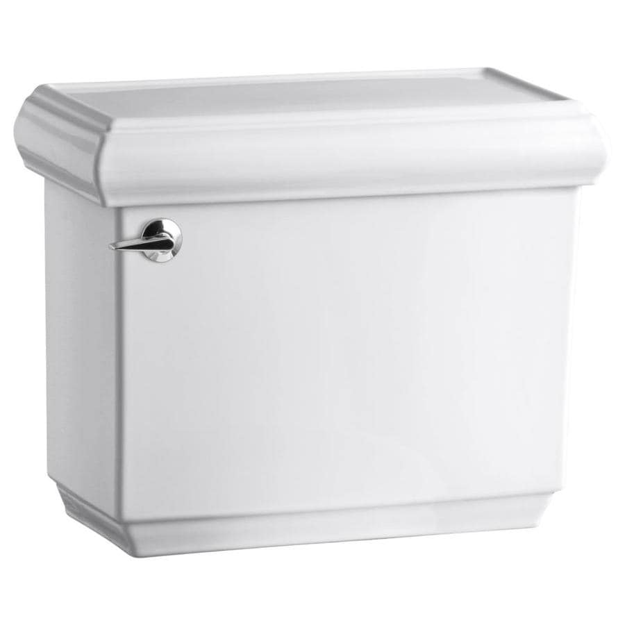 KOHLER Memoirs White 1.28-GPF (4.85-LPF) 12-in Rough-In Single-Flush High-Efficiency Toilet Tank