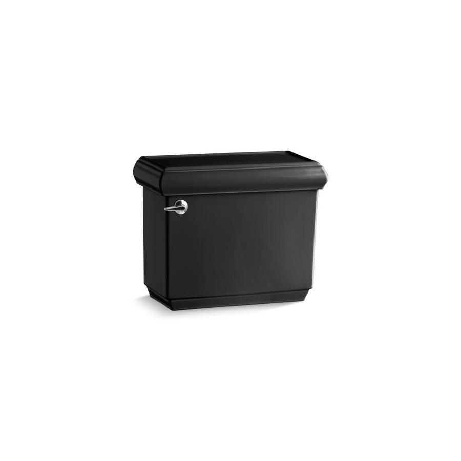 KOHLER Memoirs Black Black 1.28-GPF Single-Flush High-Efficiency Toilet Tank
