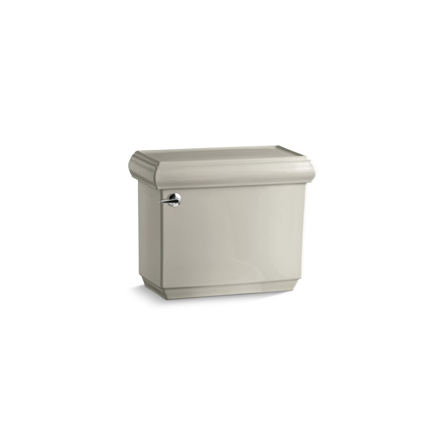 KOHLER Memoirs Sandbar 1.2800-GPF Single-Flush High-Efficiency Toilet Tank
