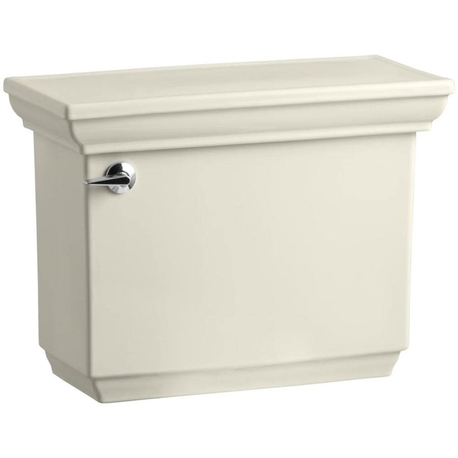 KOHLER Memoirs Almond 1.28-GPF Single-Flush High-Efficiency Toilet Tank