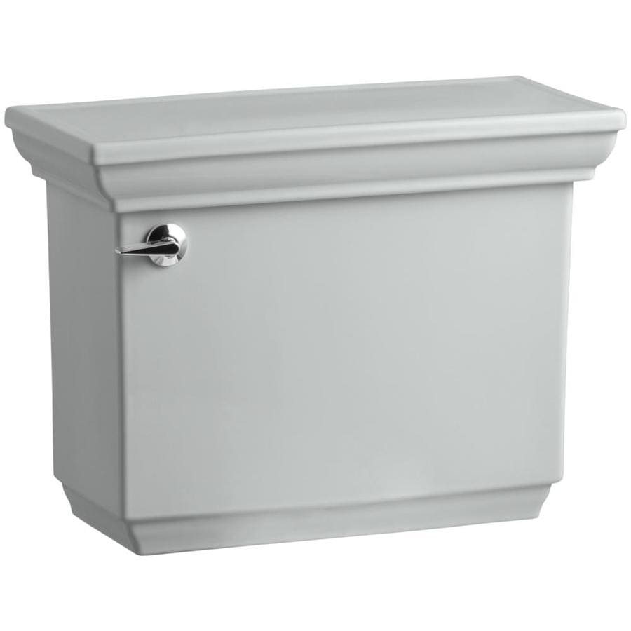 KOHLER Memoirs Ice Grey 1.28-GPF Single-Flush High-Efficiency Toilet Tank