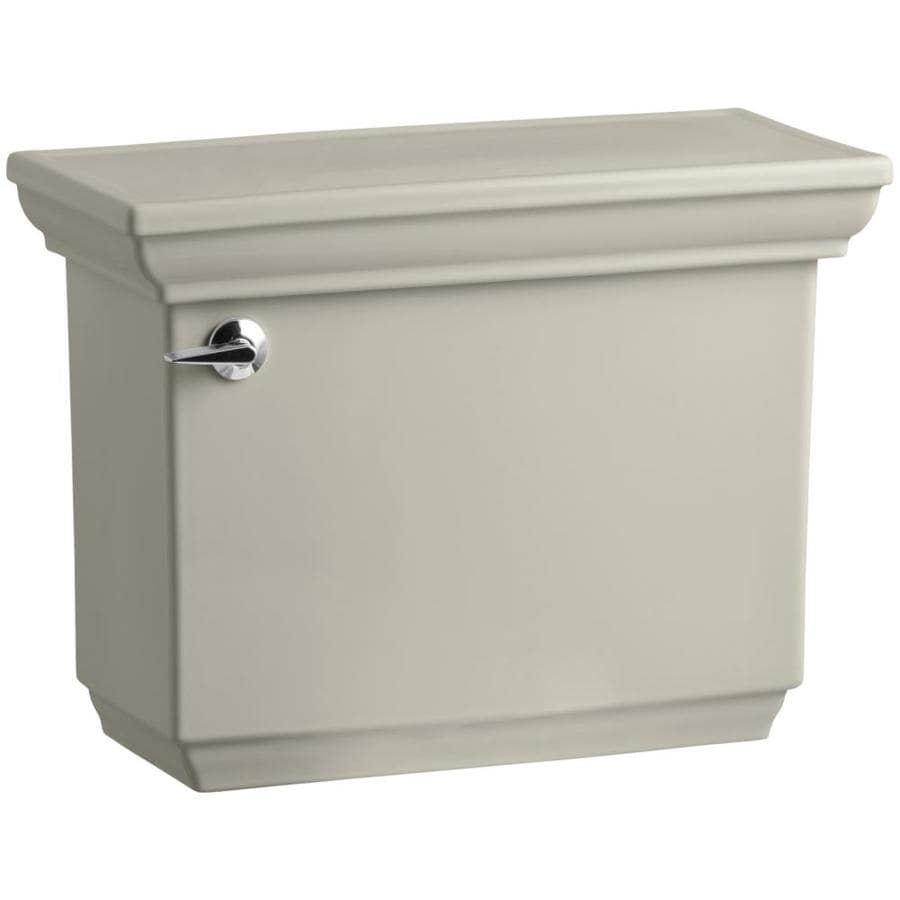 KOHLER Memoirs Sandbar 1.28-GPF (4.85-LPF) 12-in Rough-In Single-Flush High-Efficiency Toilet Tank