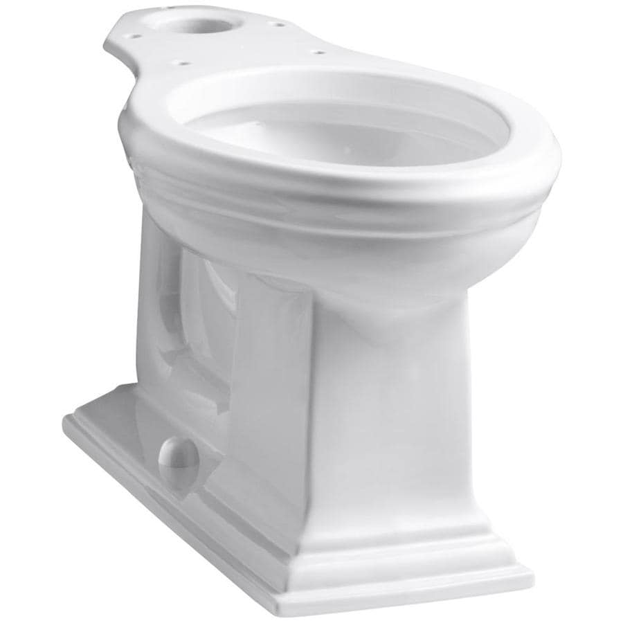 KOHLER Memoirs White Elongated Chair Height Toilet Bowl