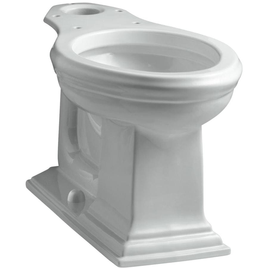 KOHLER Memoirs Chair Height Ice Grey 12-in Rough-In Elongated Toilet Bowl