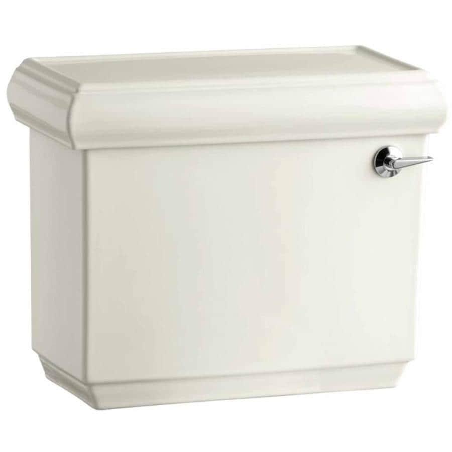 KOHLER Memoirs Biscuit 1.28-GPF (4.85-LPF) 12 Rough-In Single-Flush High-Efficiency Toilet Tank