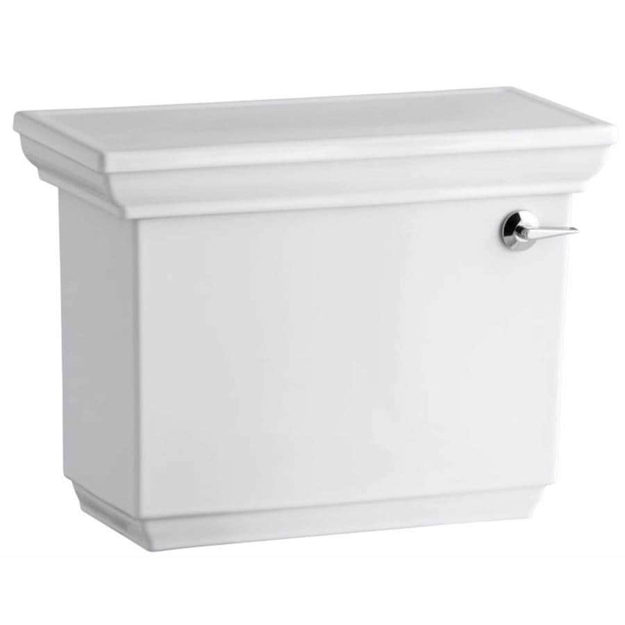 KOHLER Memoirs White 1.28-GPF Single-Flush High-Efficiency Toilet Tank