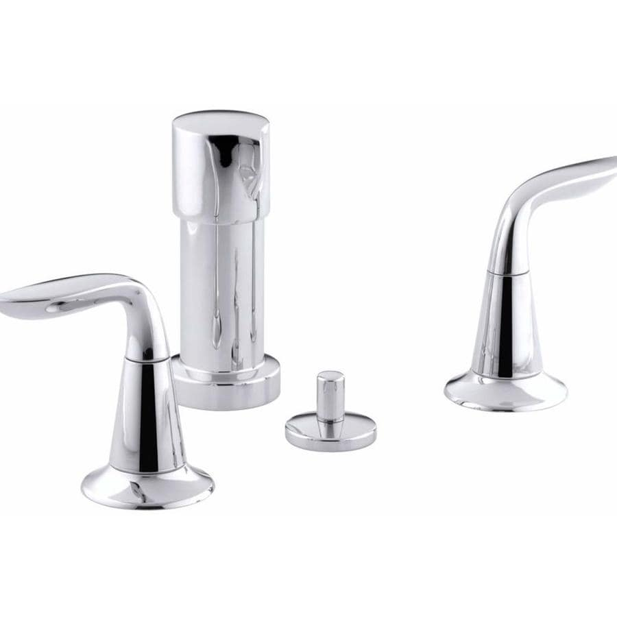KOHLER Refinia Polished Chrome Vertical Spray Bidet Faucet