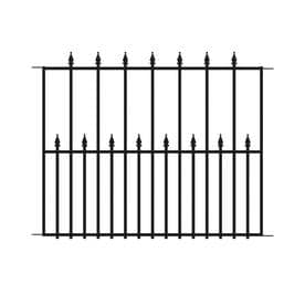 no dig empire steel fence panel