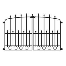 no dig empire steel decorative metal fence gate