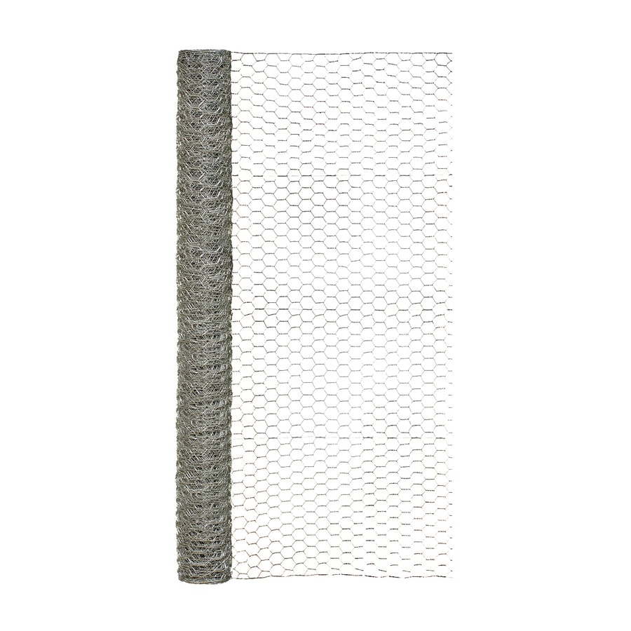 Shop Garden Zone (Actual: 25-ft x 4-ft) Steel Chicken Wire Rolled ...