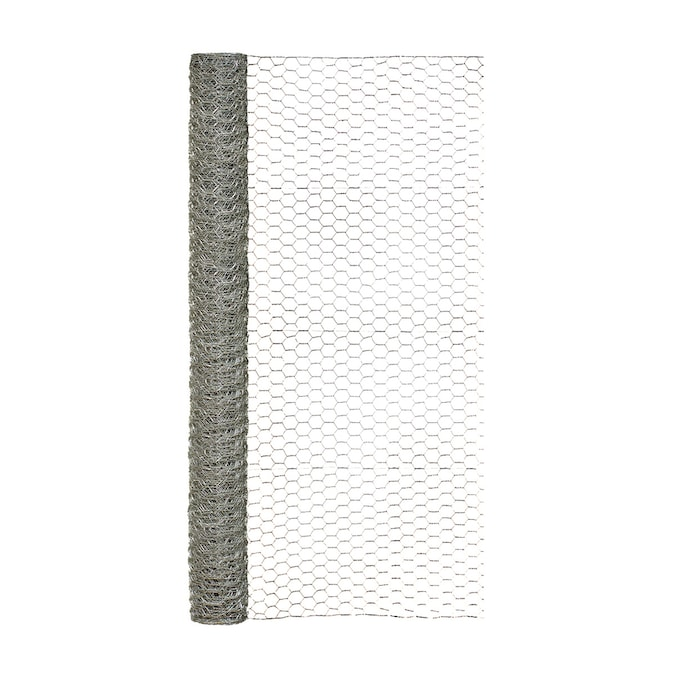 24 inch x 25 Foot Hardware Cloth 1//4 Inch Square mesh 23 Gauge Galvanized Chicken Wire Fence Mesh Roll Animal Control Tree Guard Gutter Guard Cages Craft Projects Gardening Enclosures