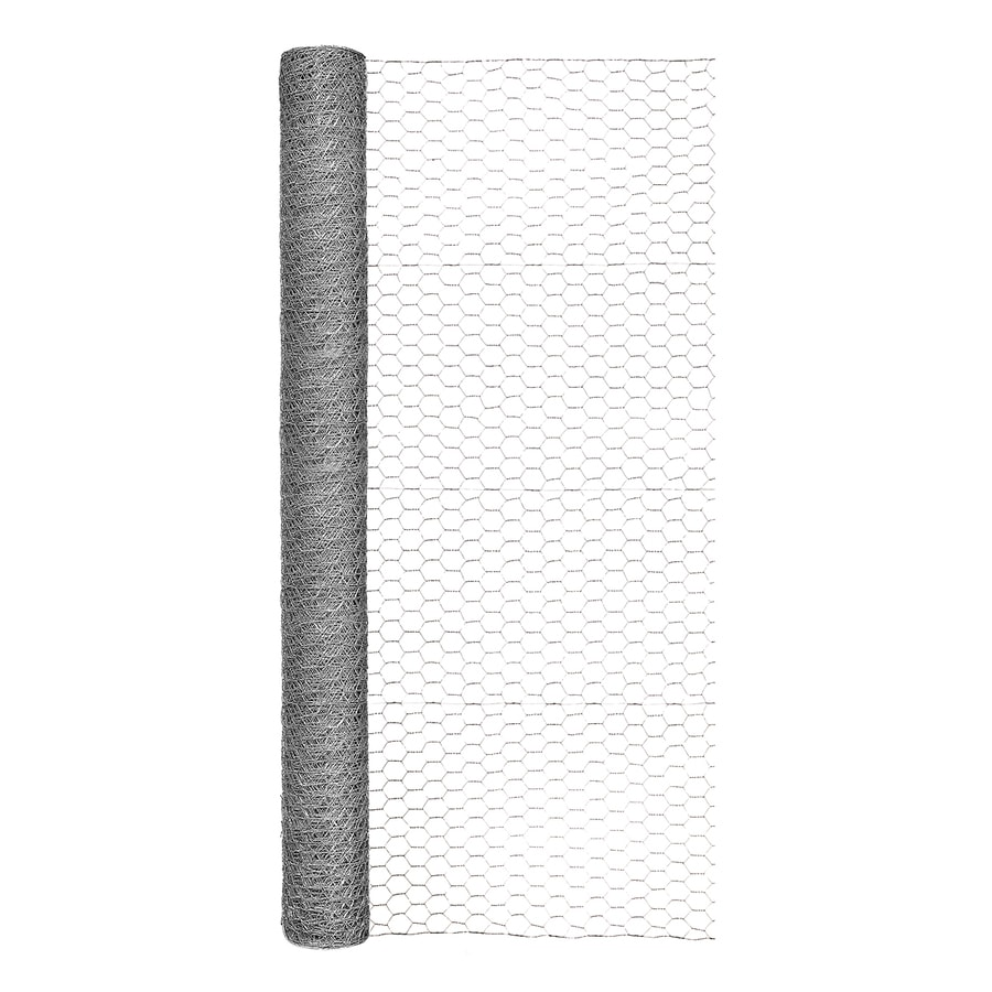 Shop Garden Zone (Actual: 50-ft x 4-ft) Steel Chicken Wire Rolled ...