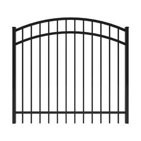 fence gate. Ironcraft (Common: 4-ft X 5-ft; Actual: 4- Fence Gate