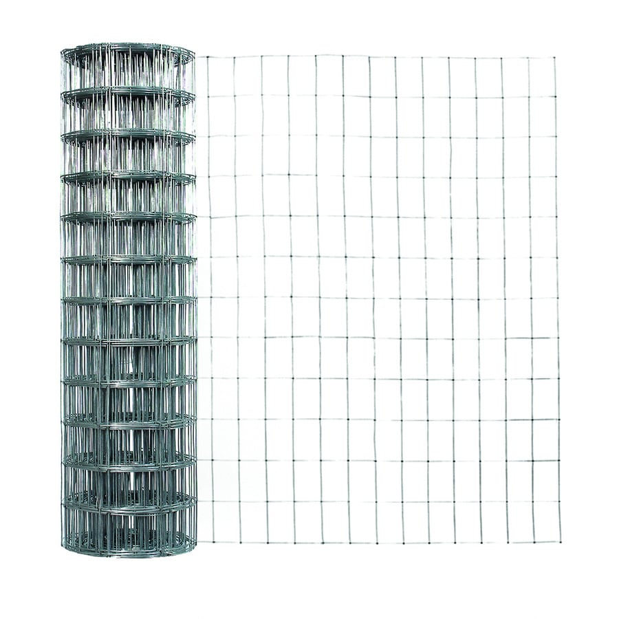 Garden Zone Actual 50 Ft X 3 Ft Gray Welded Wire Rolled