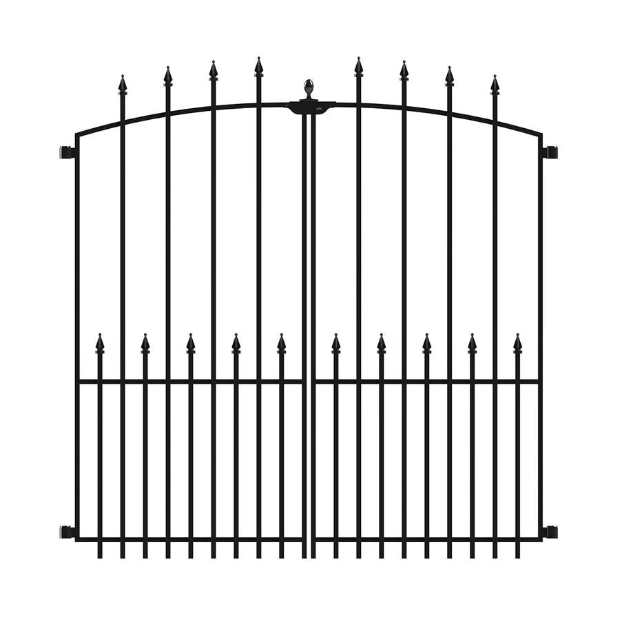 Shop No Dig Grand Empire Xl Steel Decorative Metal Fence