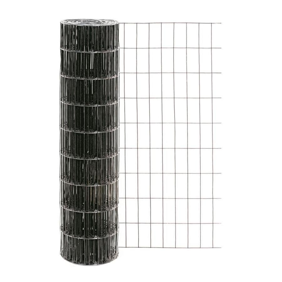 Garden Zone Black PVC Coated Steel Welded Wire (Common: 50-ft x 3-ft; Actual: 50-ft x 3-ft)