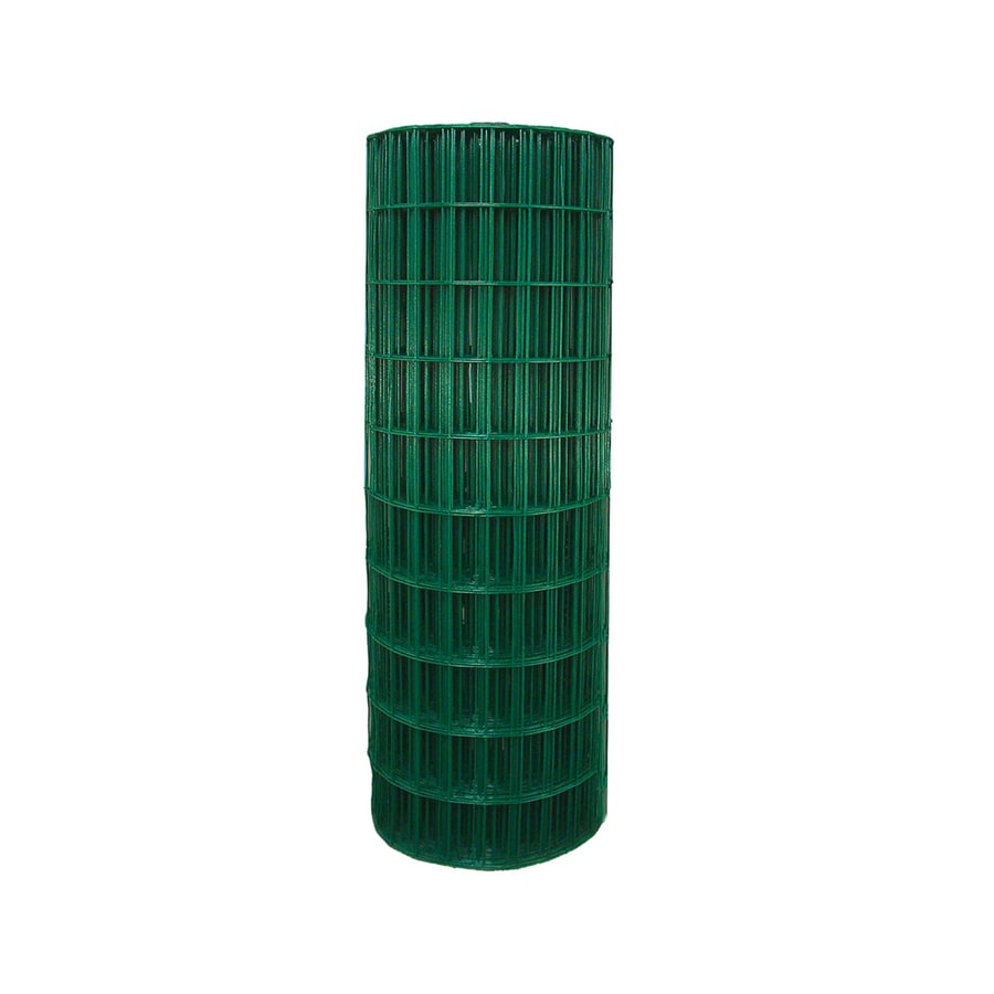 Garden Zone Green PVC Coated Steel Welded Wire (Common: 100-ft x 3-ft; Actual: 100-ft x 3-ft)