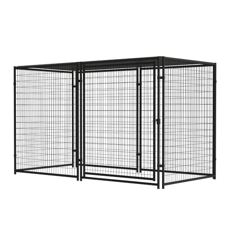 Shop blue hawk 10 ft x 5 ft x 6 ft outdoor dog kennel preassembled blue hawk 10 ft x 5 ft x 6 ft outdoor dog kennel greentooth Images