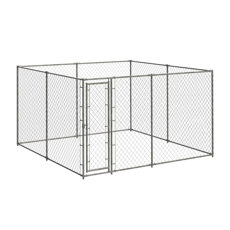 Blue Hawk 10-ft x 10-ft x 6-ft Outdoor Dog Kennel Box Kit