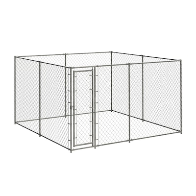Blue Hawk 10-ft x 10-ft x Outdoor Dog Kennel Kit at Lowes com