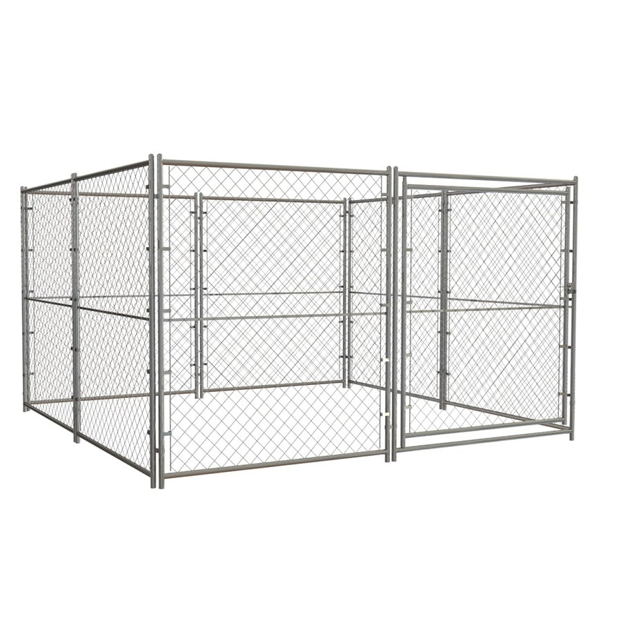 Blue Hawk 10-ft x 10-ft x 6-ft Outdoor Dog Kennel Preassembled Kit